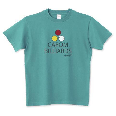 billiards Tshirt / Carom billiards!