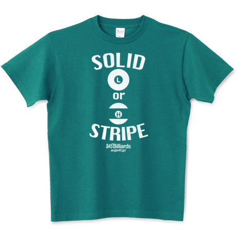 Billiards T-shirts  Solid or Stripe?