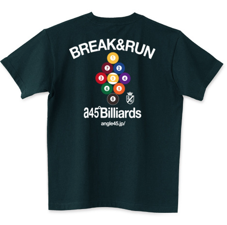 Billiards T-shirts  Break & Run