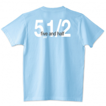 Billiards Tshirts  five and half  ファイブアンドハーフ