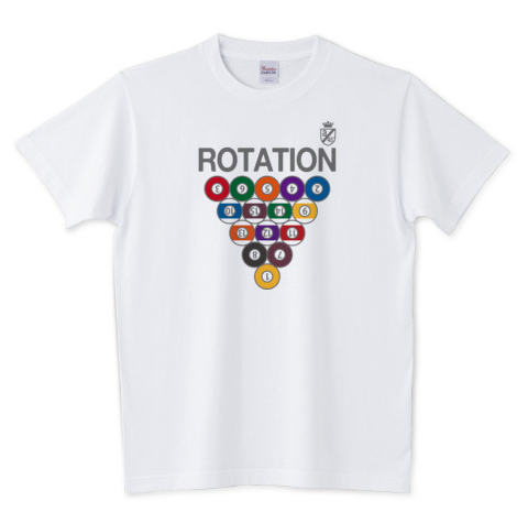 Billiards T-shirts  Rotation!