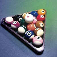 pocket billiards rack
