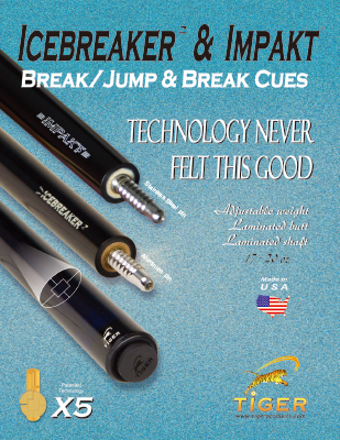 TIGER PRODUCTS Icebraker and Impact