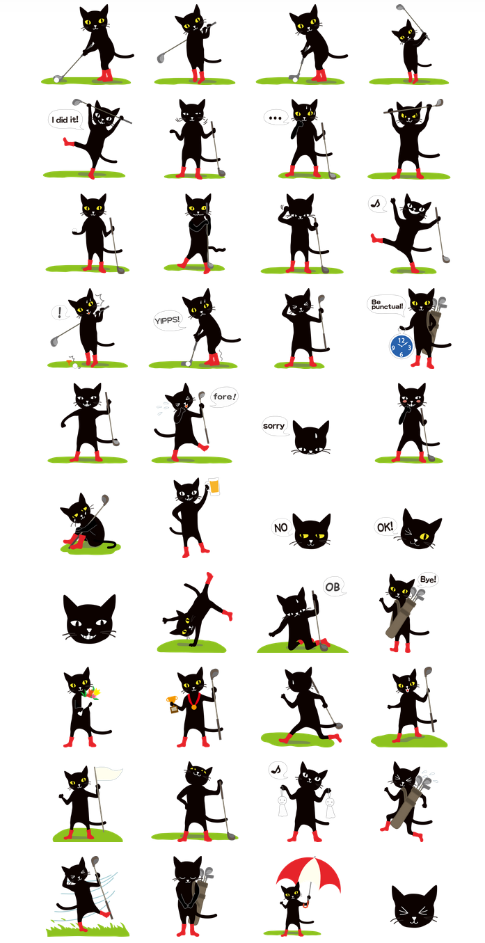 line_golf_cat_mee