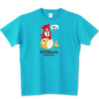 小熊のエディ ビリヤード Tシャツ 1